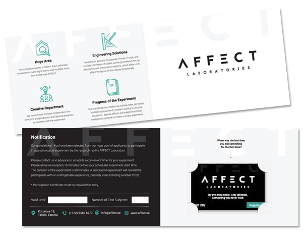 Affect Laboratories gift certificate